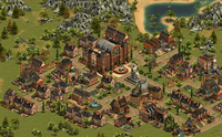 4 Forge Of Empires - Screenshot: Miasto